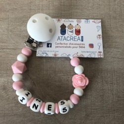 Attache Rose - Ines