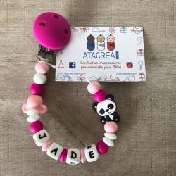 Attache Panda / Souris - Jade