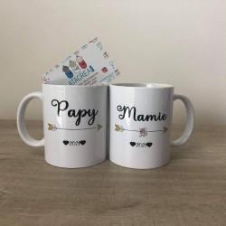 Mug - Personnalisé Mamie et...