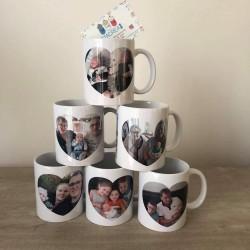 Mug - Personnalisé Photo coeur